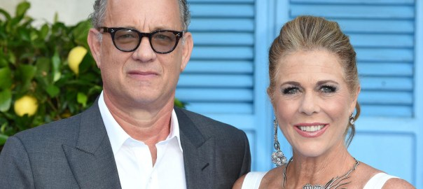 "Holed up in a Gold Coast hospital in Australia, Tom Hanks 63, said he and singer-songwriter partner Rita Wilson were taking the enforced isolation ""one-day-at-a-time"" [RFI - AFP/File]"