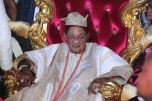 The Alaafin of Oyo, Lamidi Adeyemi. [PHOTO CREDIT: City People Magazine]
