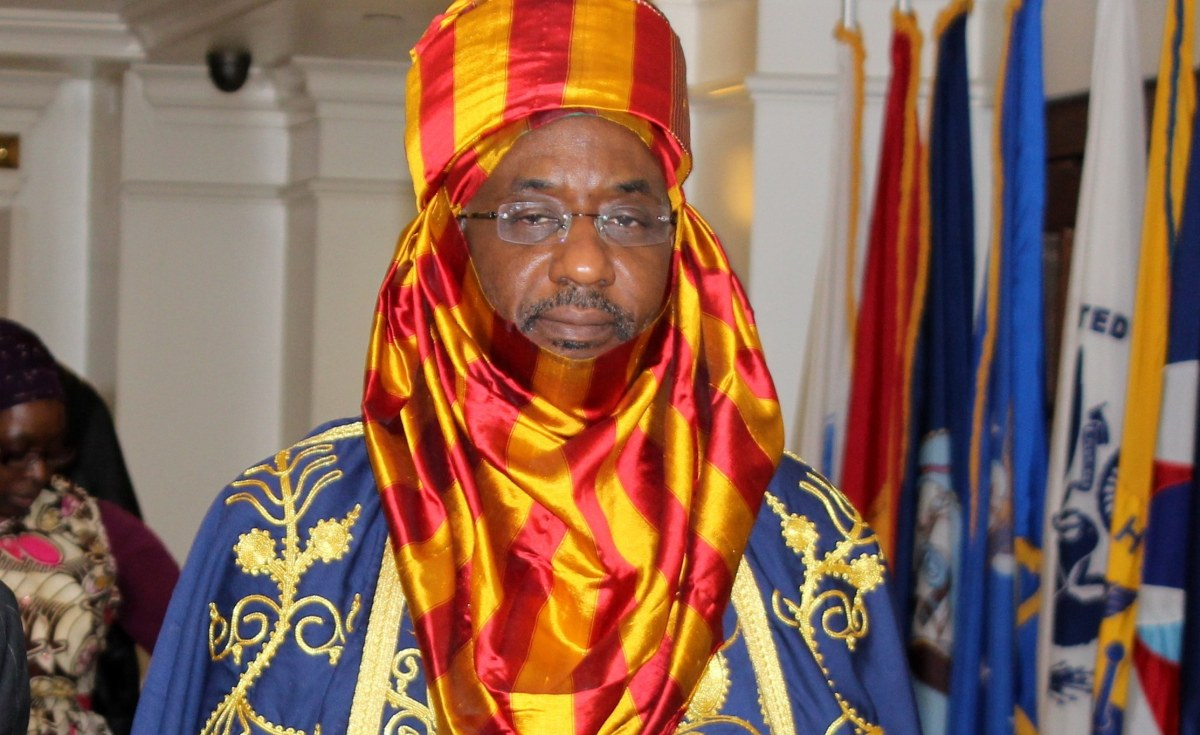FILE: Former Emir of Kano, Sanusi Lamido [Photo: Daily post]