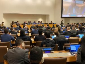 2020 peacekeeping Session at the UN Headquarters in New York.