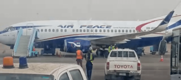 Panic in Kano Airport as sick passenger arrives on an Air Peace flight over Coronavirus scare