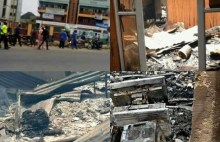 Transmitter, studio equipment, others burnt as fire razes online radio station in Ibadan