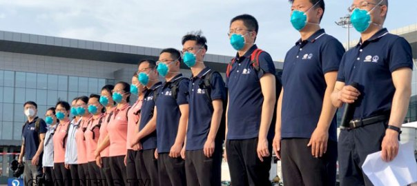 Chinese doctors arrive in Nigeria