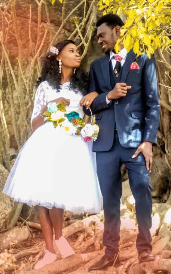 Lois Ugome smitten by her husband, Emmanuel Obiejemba
