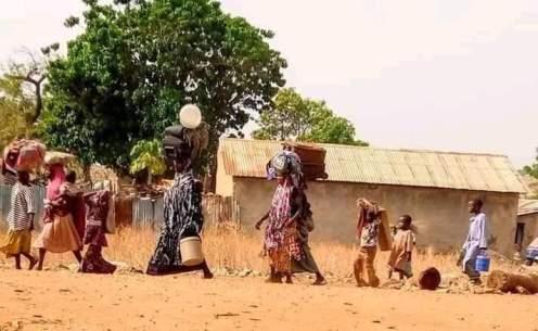 Residents of Kafi LGA, Niger State, fleeing to Kagara