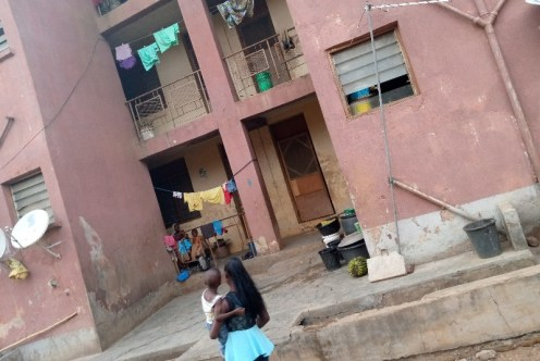 Janet Samuel's apartment at Ogbodo barracks 1