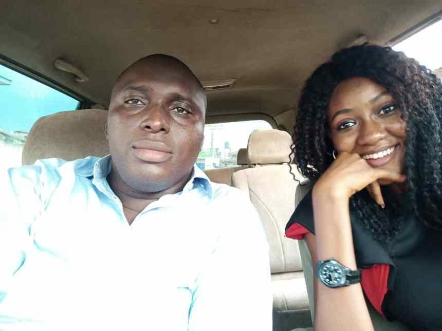 Mr Poto Rahman with his wife