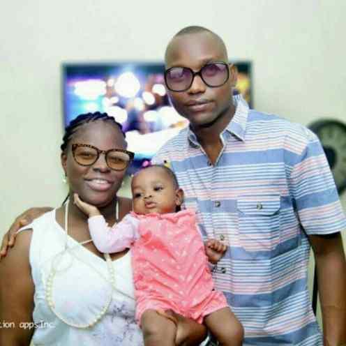 Mrs Shakirat Adetona and family