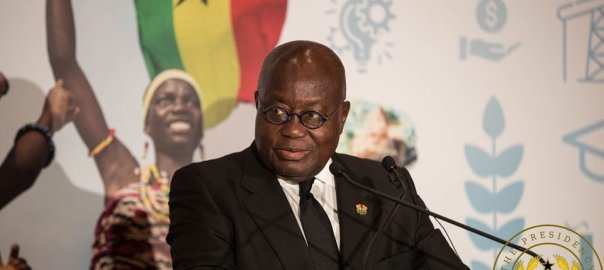 Ghana's President, Nana Akufo-Addo. [PHOTO CREDIT: Official Twitter account of Akufo-Addo]