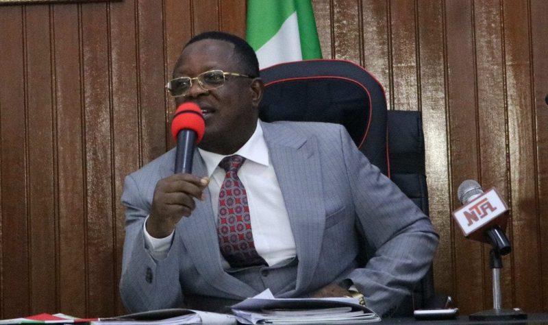 Ebonyi State Governor, David Umahi