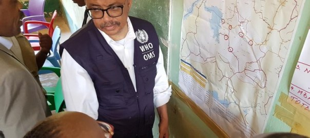 WHO Director-General Dr Tedros visited the DR Congo to assess the response to the Ebola outbreak