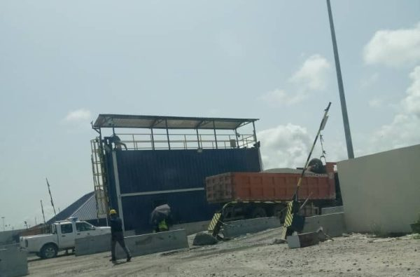 A section of Dangote Refinary site