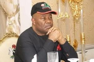 Minister of Niger Delta Affairs, Godswill Akpabio [PHOTO: Silverbird TV]