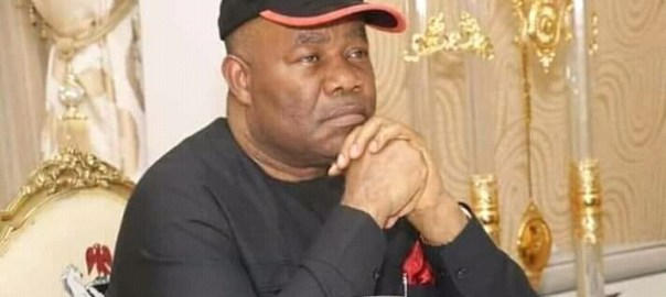 Minister of Niger Delta Affairs, Godswill Akpabio [PHOTO: Silverbird TV]