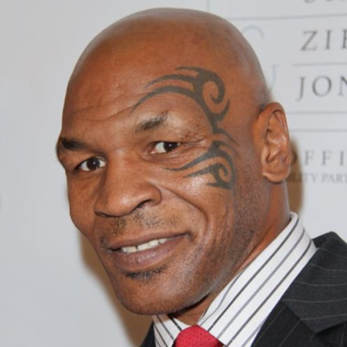 Mike Tyson [PHOTO: Biography.com]