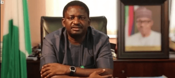 Femi Adesina, the spokesperson to President Muhammadu Buhari