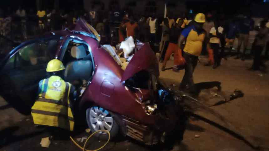 One dead, two injured in Lagos road accident