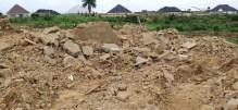 One of the demolished buil ... , Uyo, Akwa Ibom state.jpg
