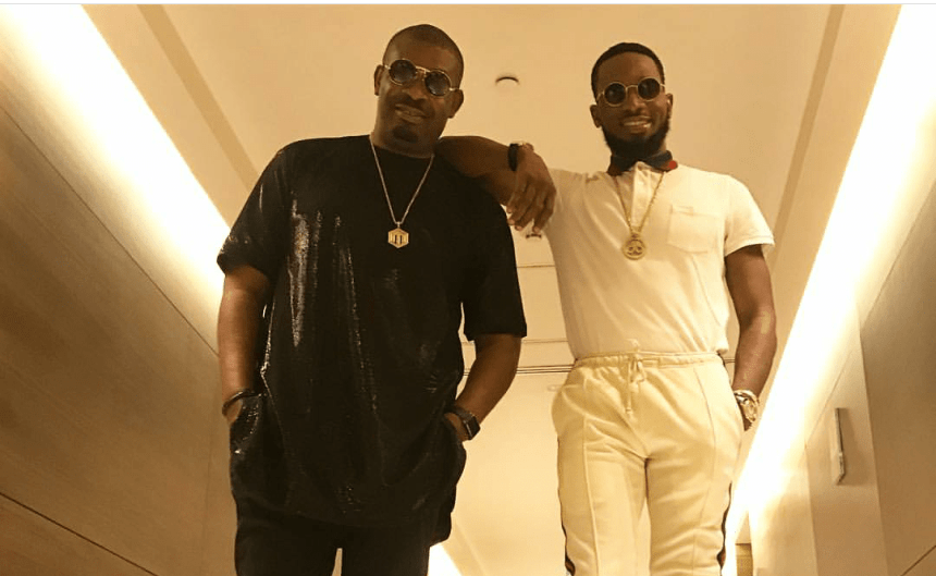 Mavin boss, Don Jazzy and DBanj.