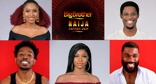 Some BBNaija Pepper Dem Housemates