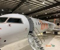 The new bombardier CRJ 900 in Ibom Air fleet