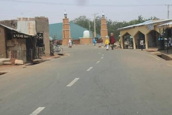A township road constructed by Buni administration