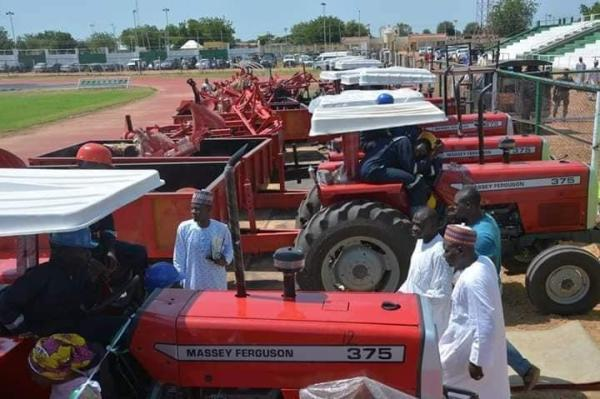 Tractors secured to improve mechanised farming