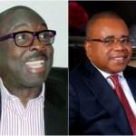 Minister of Industry, Trade and Investment , Niyi Adebayo and MD/CEO of OGEFZA, Umana O. Umana