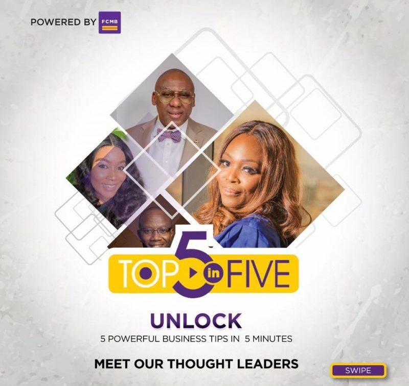 Top-5-In-5 in an initiative of FCMB