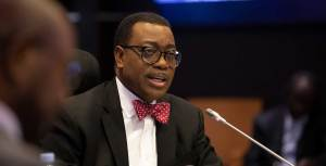 The president of the African Development Bank Group (AfDB), Akinwumi Adesina