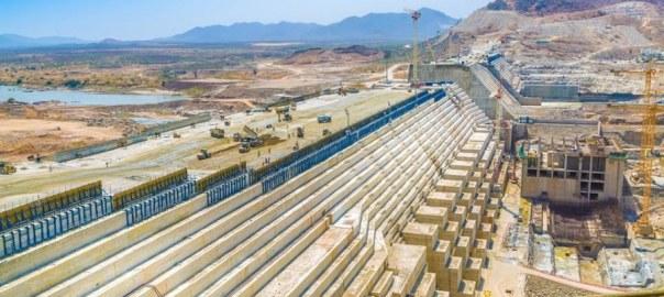Grand Ethiopian Renaissance Dam (GERD) [PHOTO: Allafrica.com]