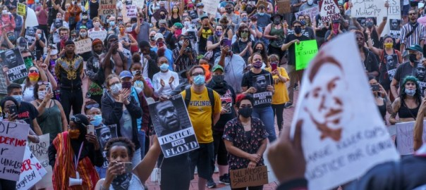 Protests against police brutality and systemic racism ignited by the killing of George Floyd in Minneapolis [PHOTO CREDIT: AFP.com]