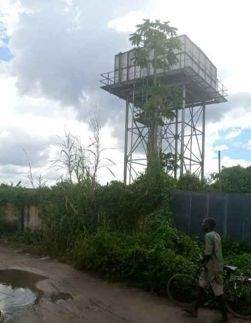 Another forgotten solar-powered borehole at Erovie Quarters in Isoko North LGA