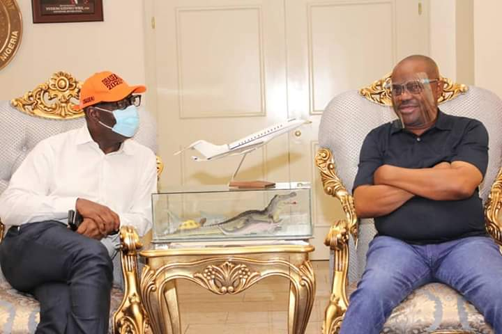 Wike mocks Oshiomhole for disqualifting Obaseki by using Certificate