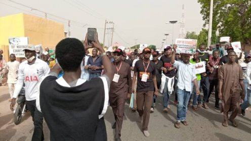 Groups protest in Katsina, demand end to killings