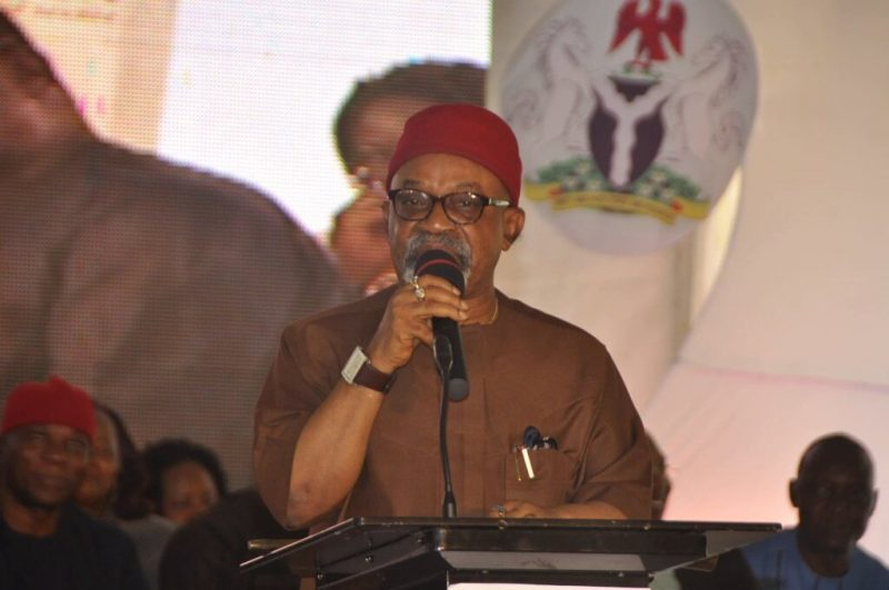 Chris Ngige. [PHOTO CREDIT: @NGYouths4Change]