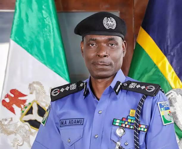 The Police Inspector-General (IGP), Mohammed Adamu. [PHOTO CREDIT: @toluogunlesi]