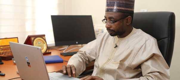 DG of NITDA Mallam Kashidfu Inuwa Abdullahi [Photo: @NITDANigeria]