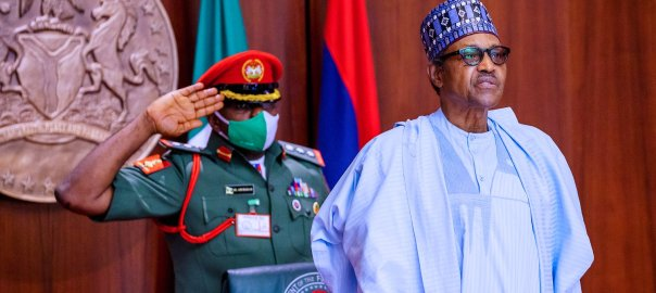 President Muhammadu Buhari [PHOTO CREDIT: @BashirAhmaad]