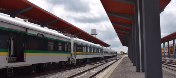 Itakpe-Warri Railway Complex in Agbor, Delta State[PHOTO CREDIT: @ChibuikeAmaechi]