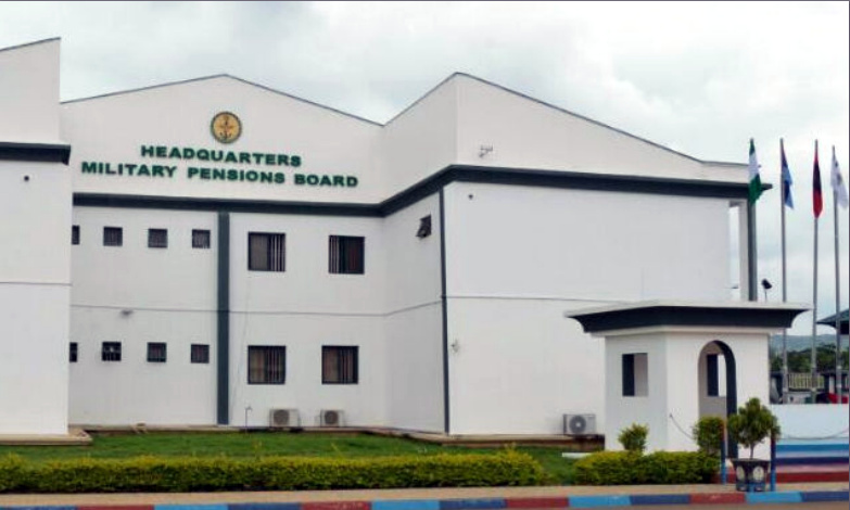 Headquarters of the Military Pensions Board. [PHOTO CREDIT: Official web page of Military Pensions Board || mpb.ng]