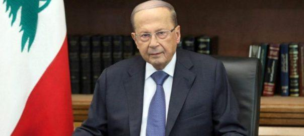 Lebanon's president