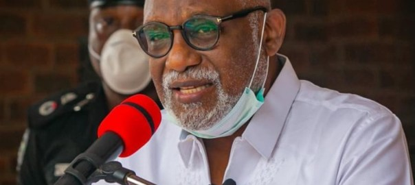 Ondo State Governor Rotimi Akeredolu [PHOTO CREDIT: rotimiaketi]
