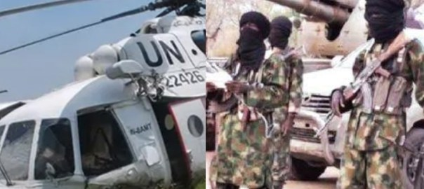 Boko Haram attack on UN helicopter