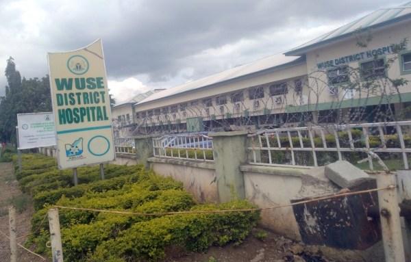 Corridor leading to wards at Wuse General Hospital. (PHOTO CREDIT: Ebuka Onyeji)