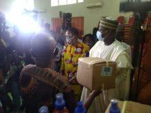 JOHESU distributing PPE to its health workers