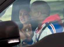 Kanye West and Kim Kardashian (Photo Credit: TMZ)