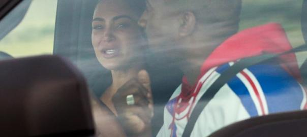 Kanye West and Kim Kardashian (Photo Credit: TMZ)