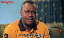 Screenshot of a Yoruba movie used to illustrate the story