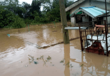 Flood sacks veteran actor Pa James from Lagos home. [PHOTO CREDIT: Adekunle Afod]